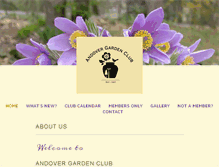 Tablet Preview of andovergardenclub.org
